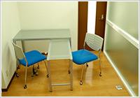 嘉麻市てしま歯科クリニックのカウンセリング室